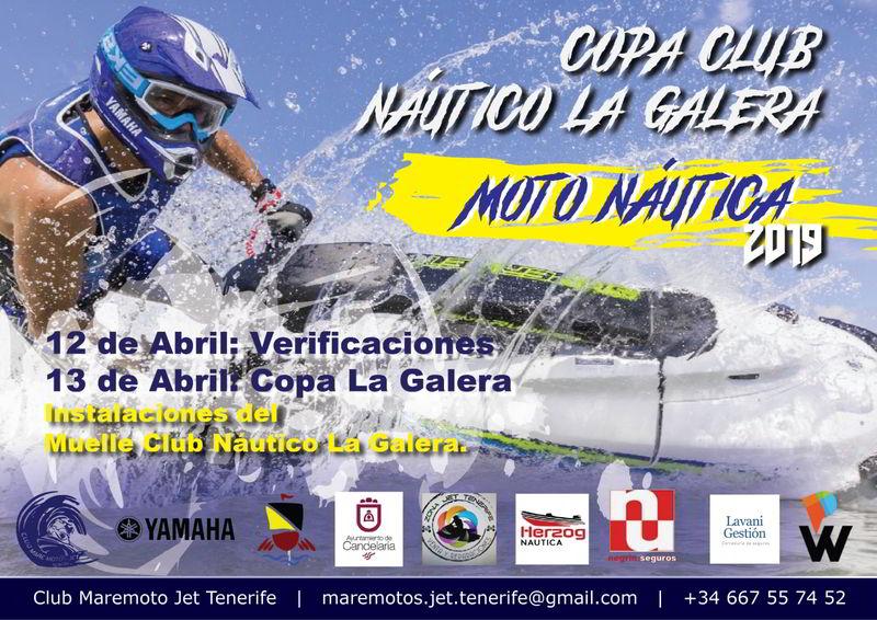 "Copa club Náutico la Galera ""Moto Náutica 2019″"