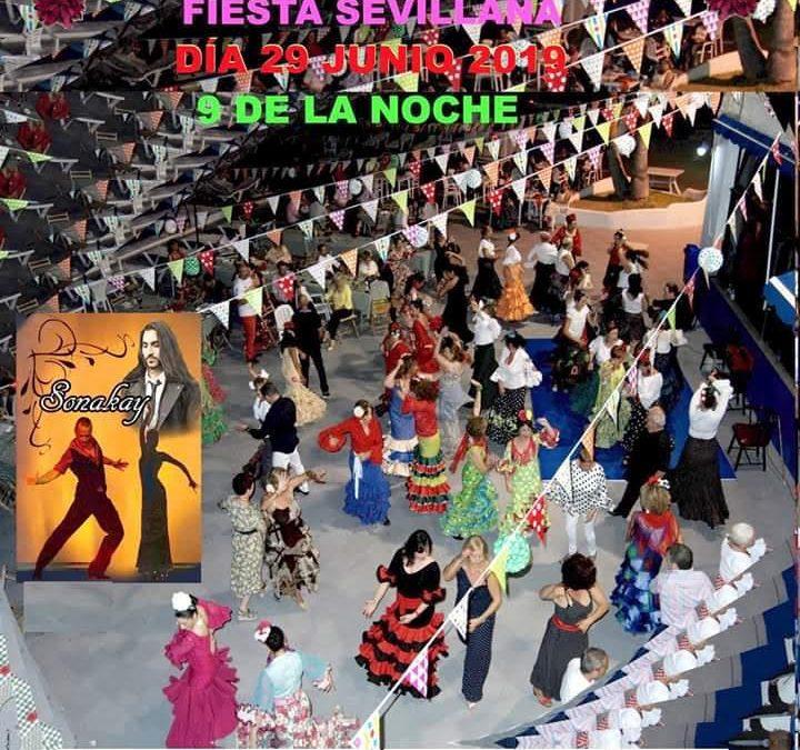 Fiesta sevillana 29 de Junio